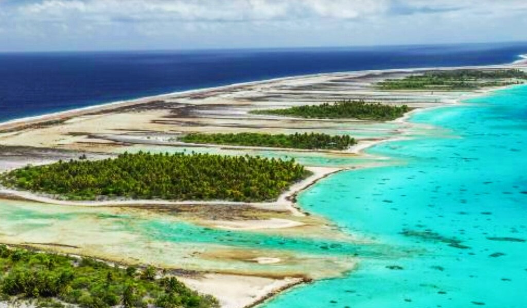French Polynesia - Turquoise waters lap at the whitest of beaches. Hundreds of these perfect island gems locally known at 'Motu's' make up the broader Tikehau atoll are one of earth's last areas of pristine paradise and boast some of the finest marine life on the planet.