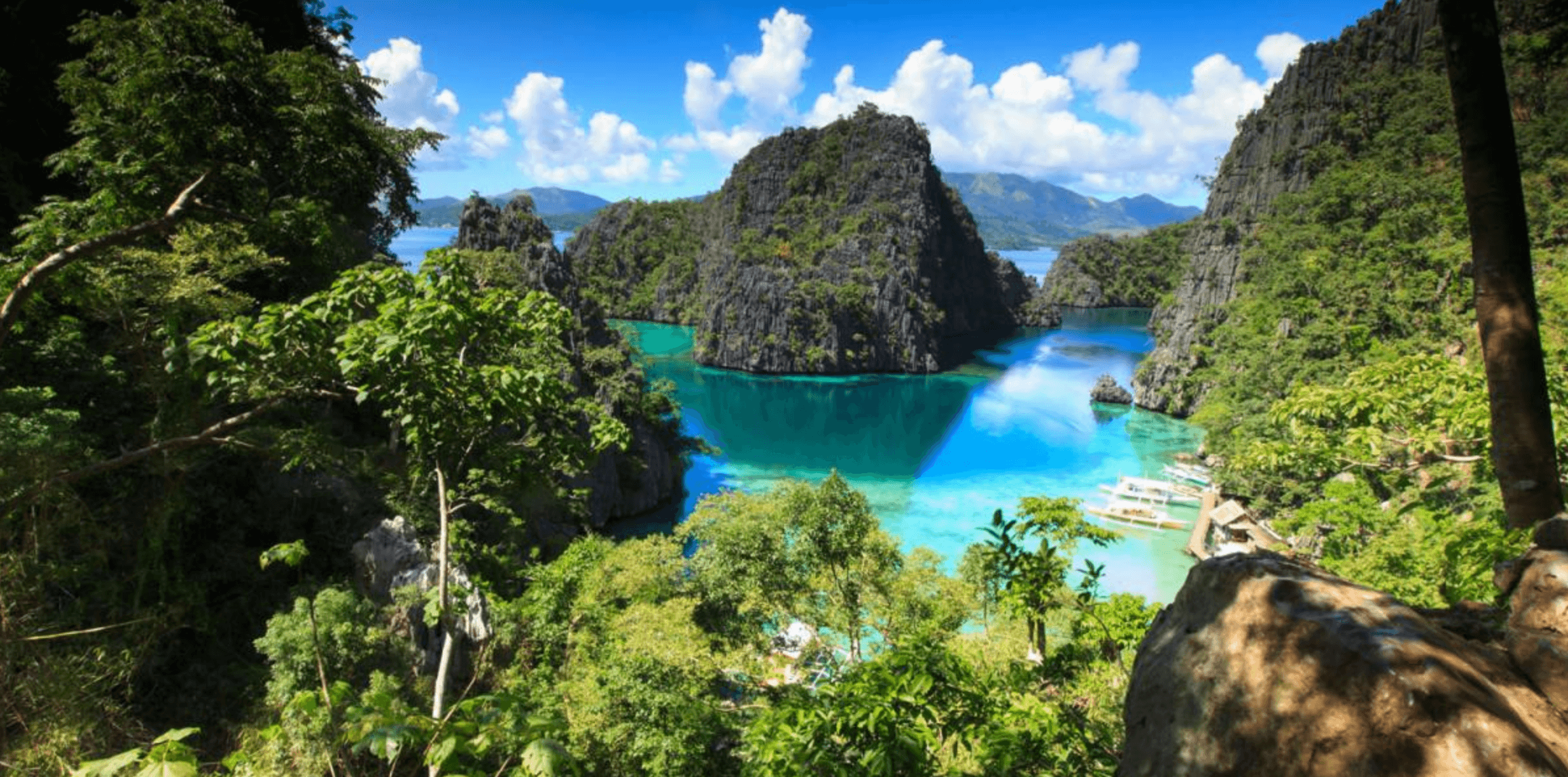 Coron Island. Where we will start and finish the expedition.