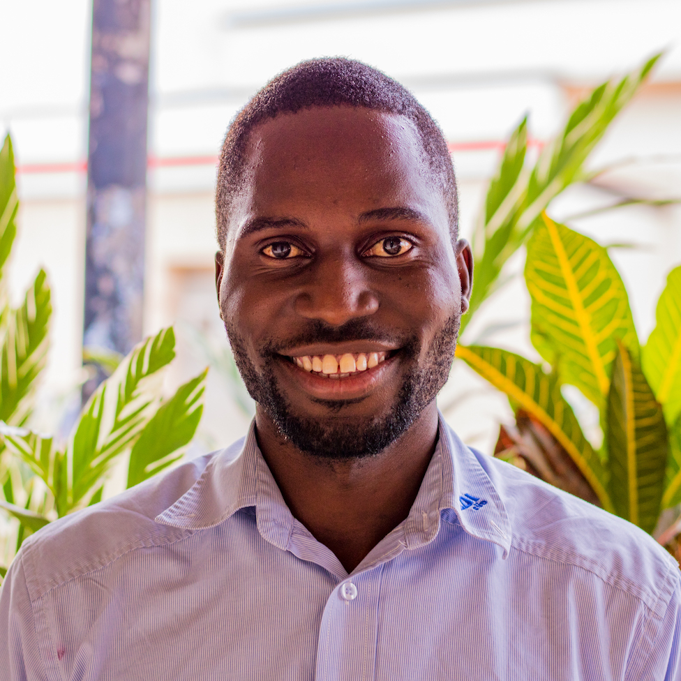 Born and raised in Jinja, Rogers has early memories of visiting the Source during his mother's employment at the café. He attended Rochester College in the USA, where he earned a B.A. in business management. After graduation, he returned to Uganda where he serves as the Source Café manager..
