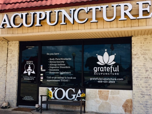 Meditation classes are held at Grateful Acupuncture 602 E Main St. Suite B, Allen, TX 75002