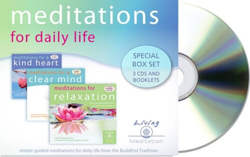 Some classes will be based on the   Living Meditation Series   of guided meditations, prerecorded versions of which are downloadable from Tharpa in MP3 format.