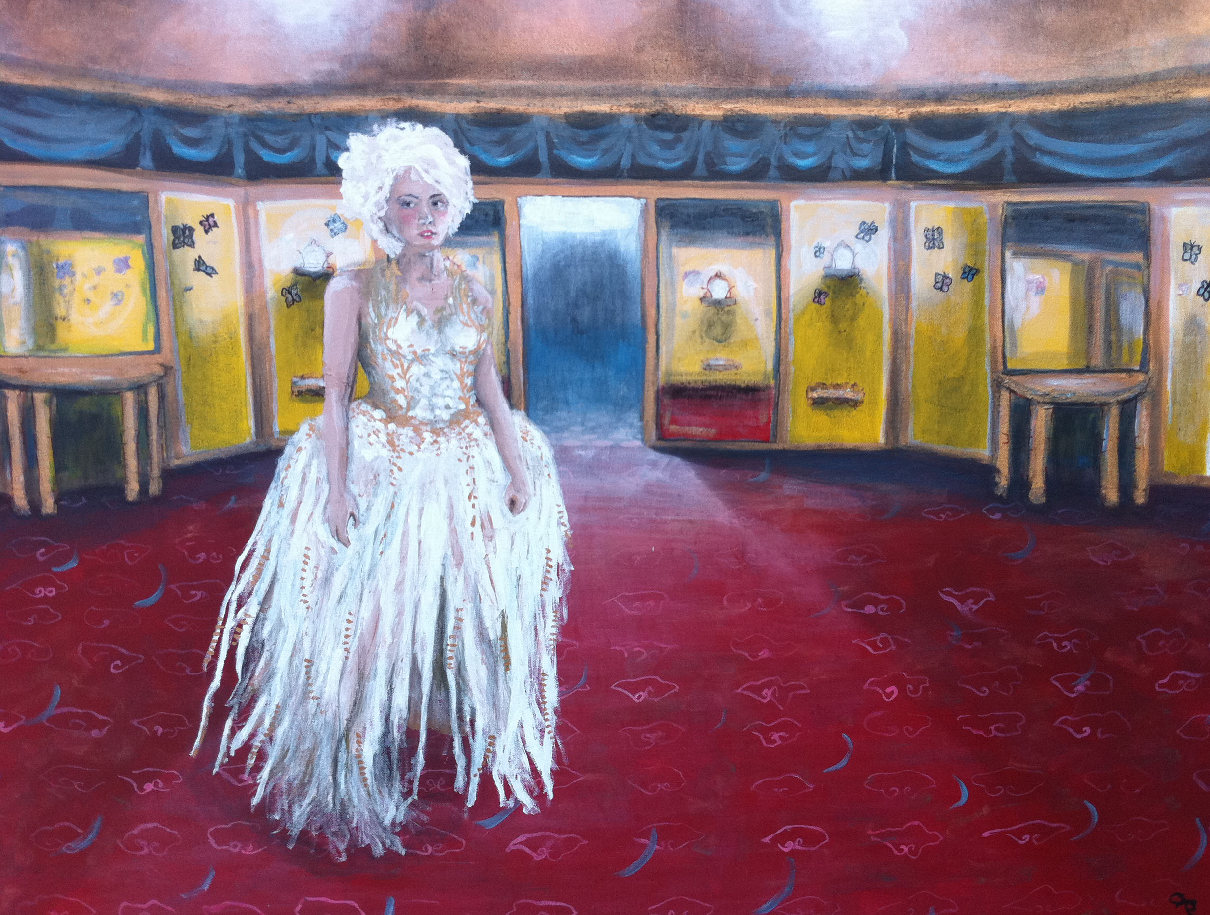 Ingrid's Grauman 2 - acryic on canvas - 30x40.JPG