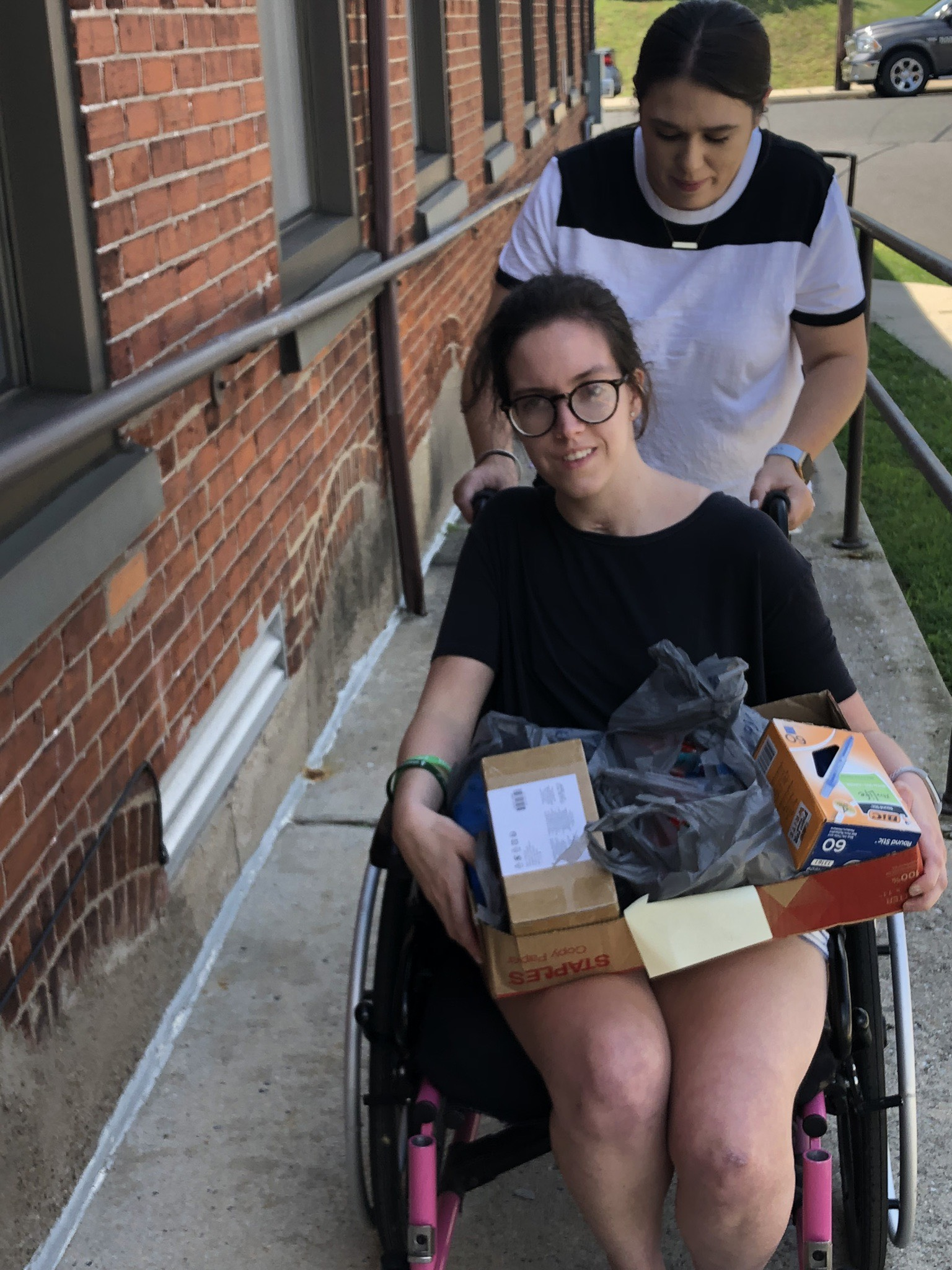 Success Rehabilitation donating school supplies to  The Open Link  in August, 2019.