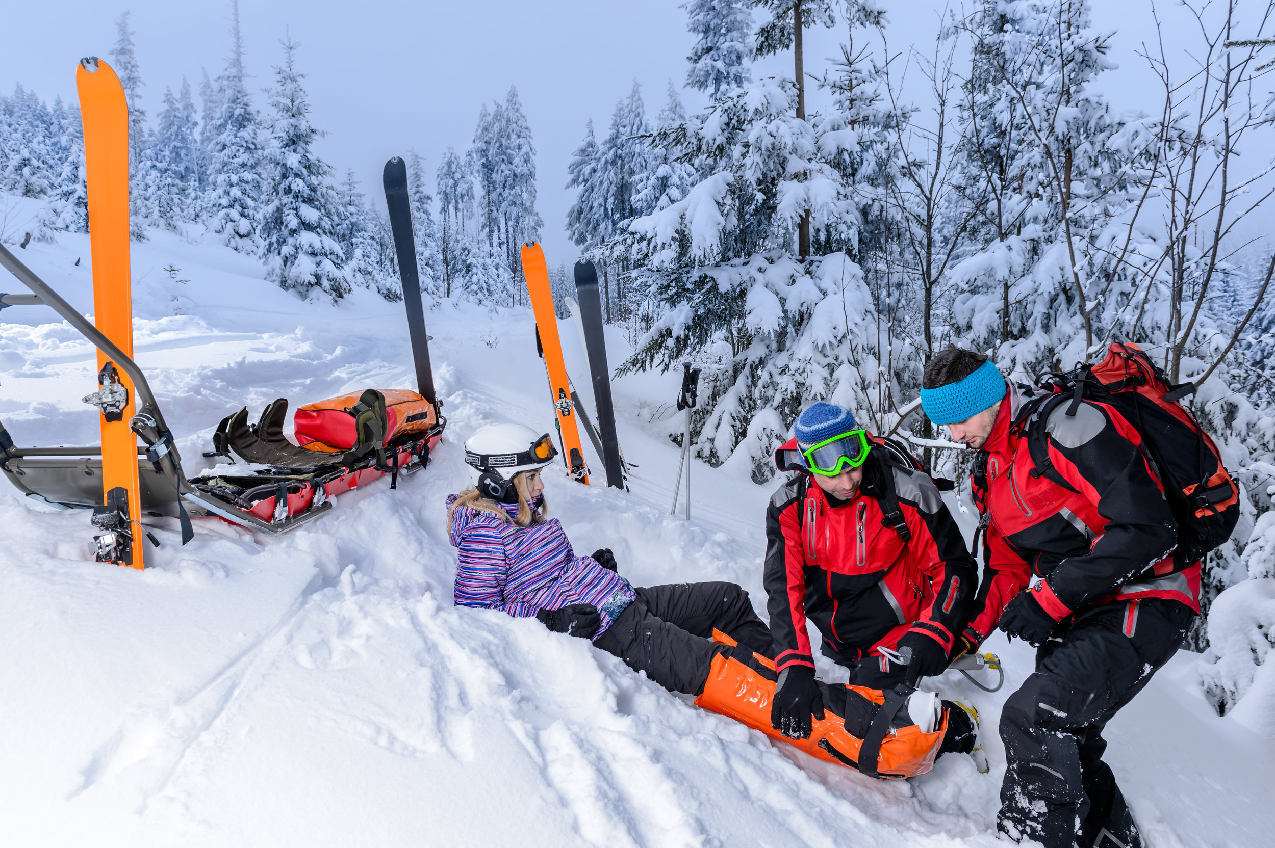Knee ligament injuries are the most common ski injury! - Prepare yourself better this winter and AVOID this painful experience