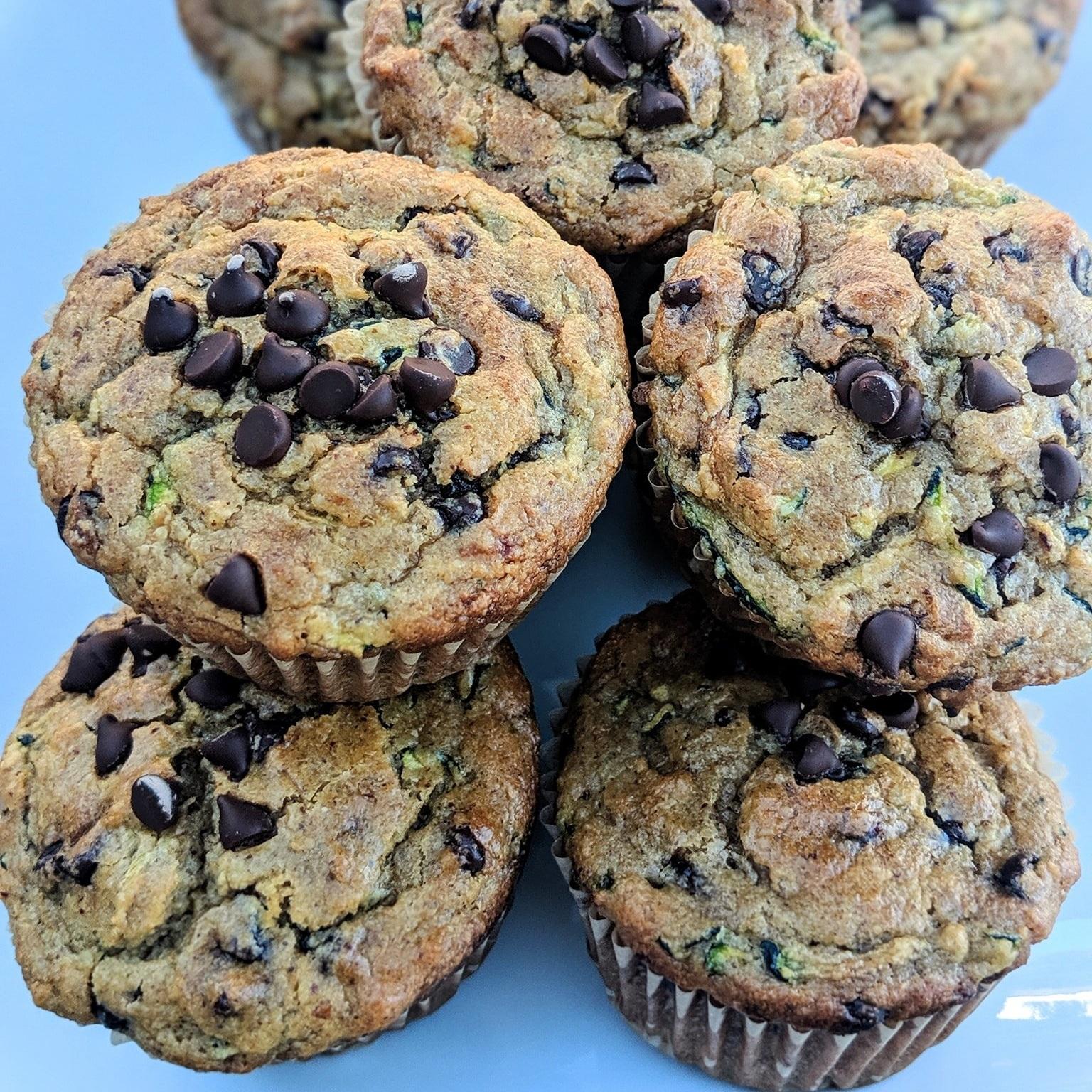ignited+health+fitness+zucchini+chocolate+chip+muffins