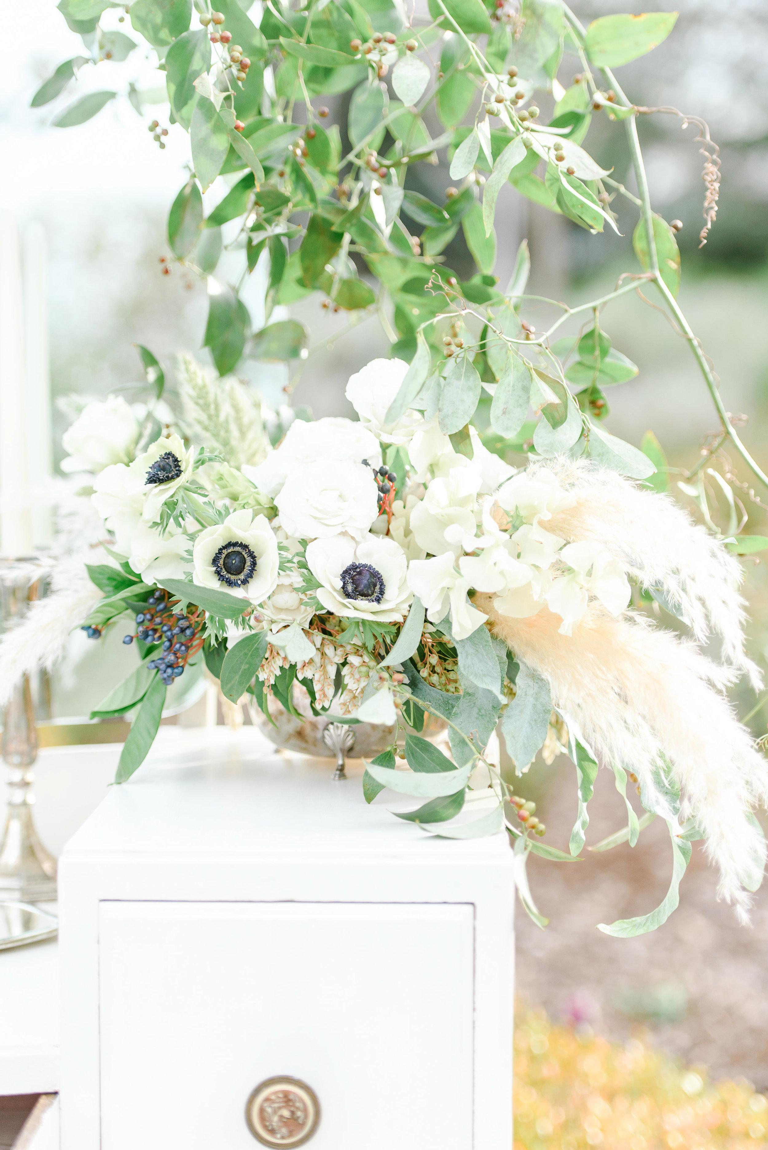 Pampas Wedding Flowers