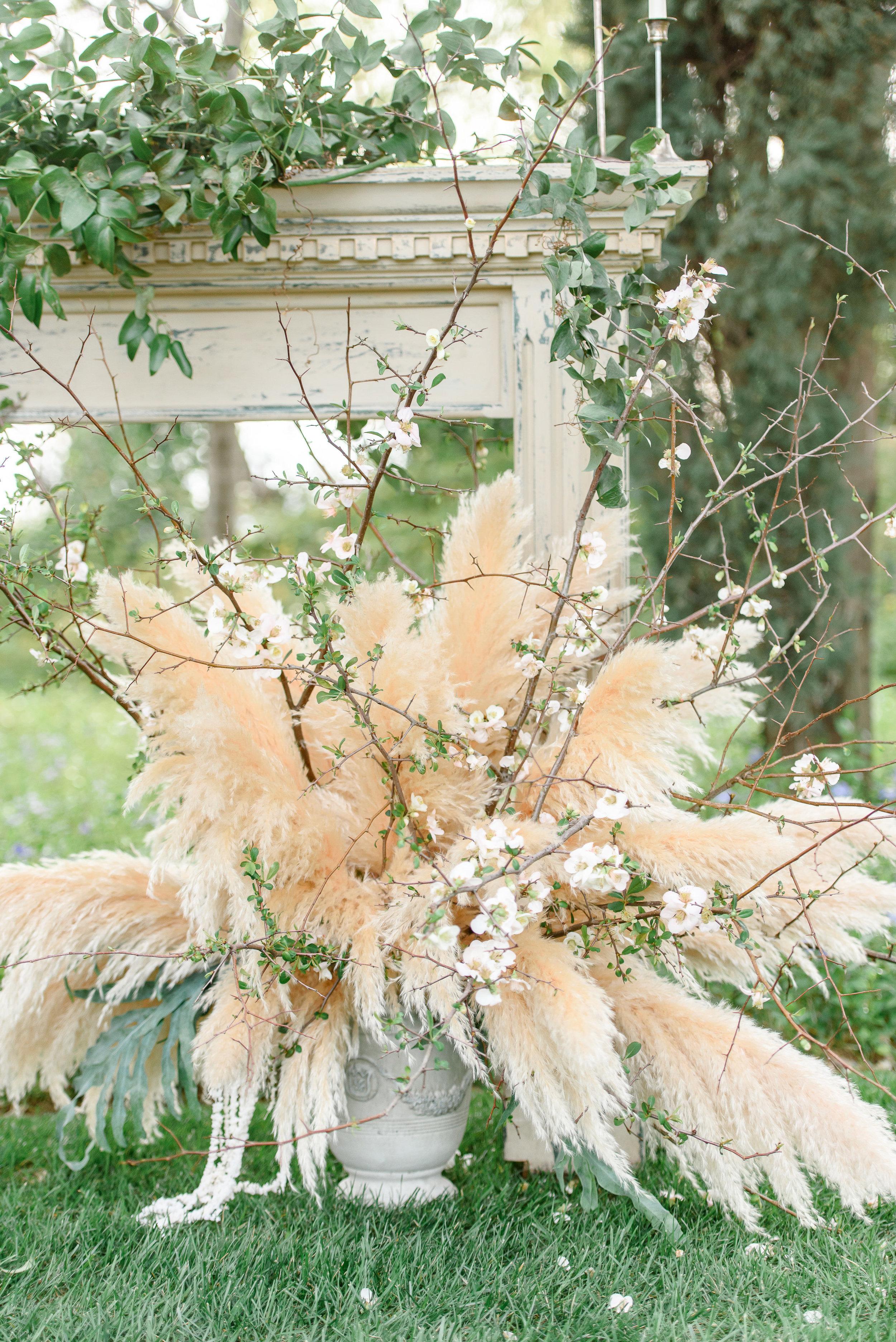 Wedding Flowers | Unique Wedding Flowers | Pampas Grass