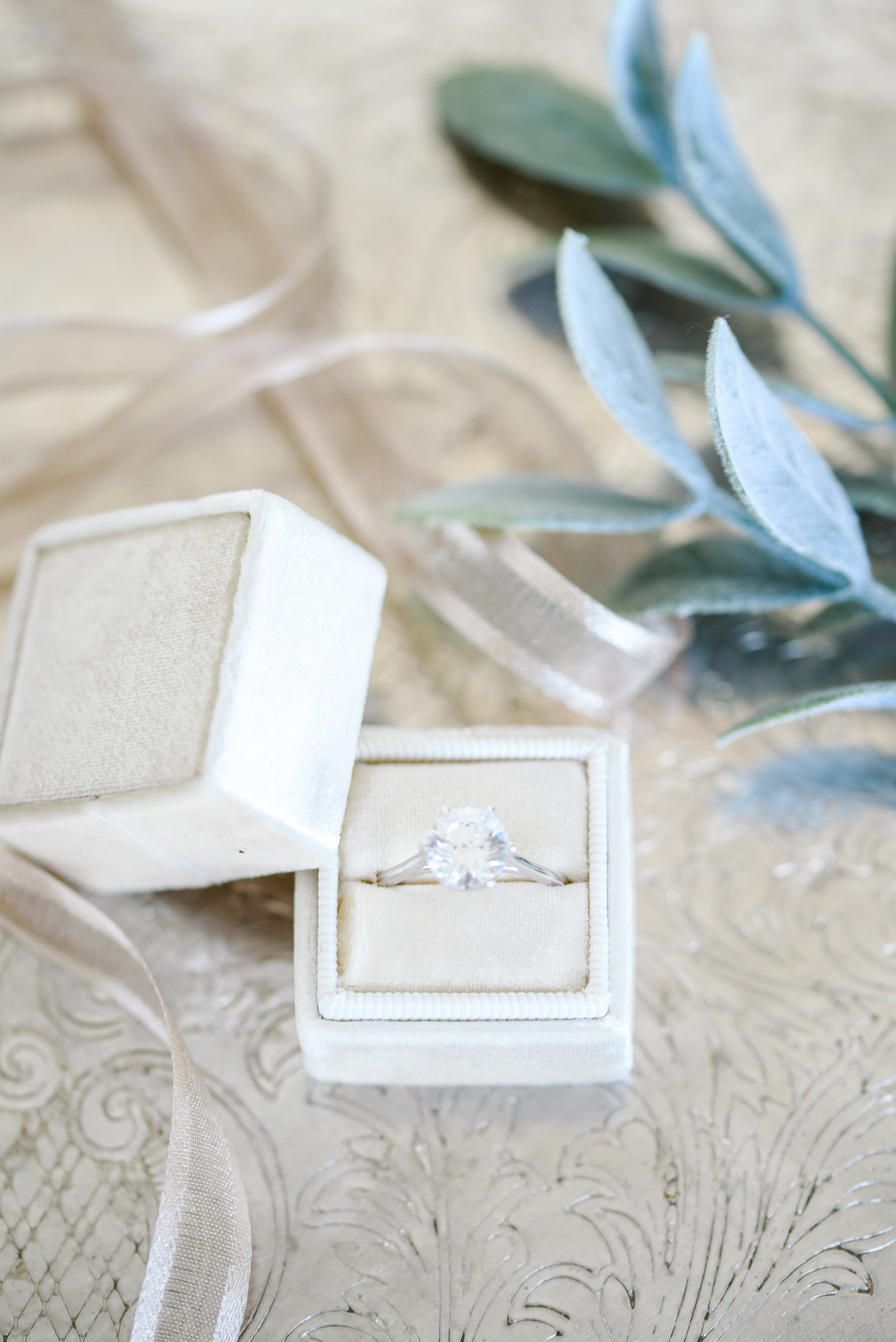 Solitaire Engagement Ring | The Mrs. Ring Box