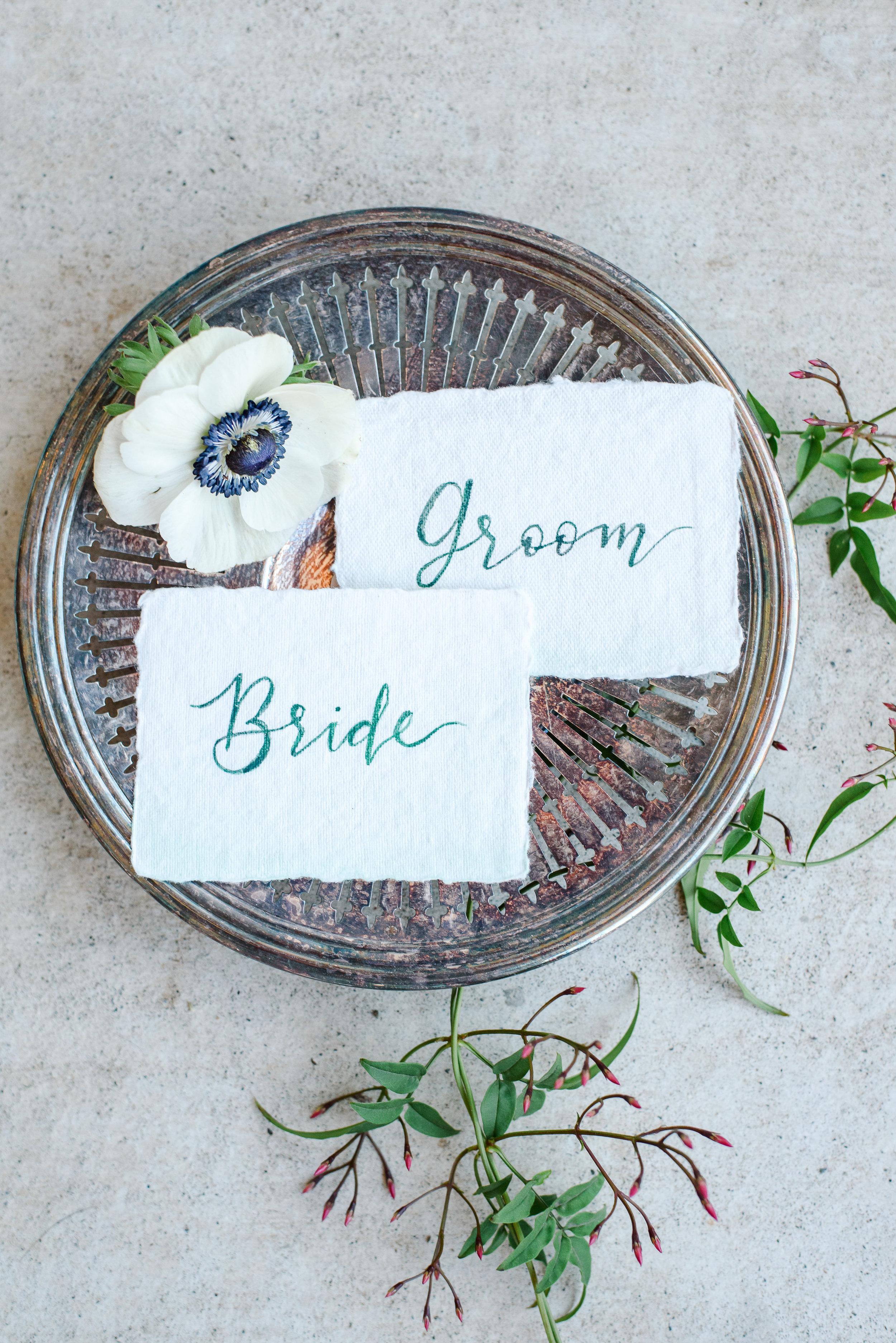 Custom Watercolor Wedding Paperie