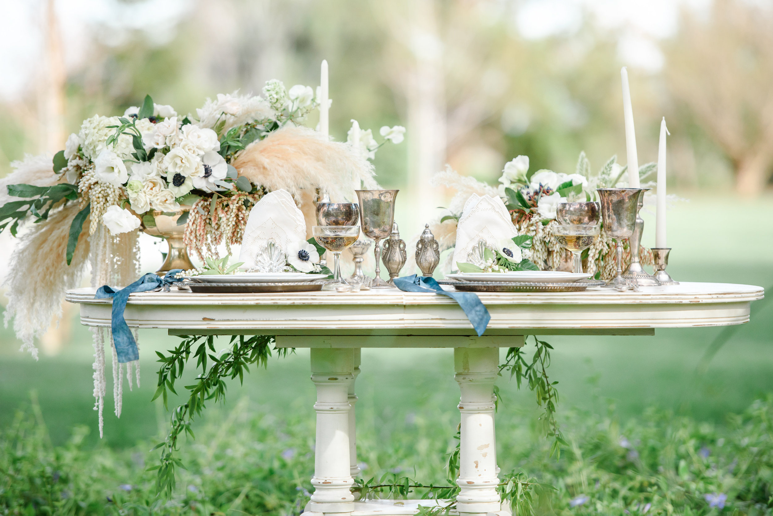 Sweetheart Wedding Table | Neutral Wedding Colors