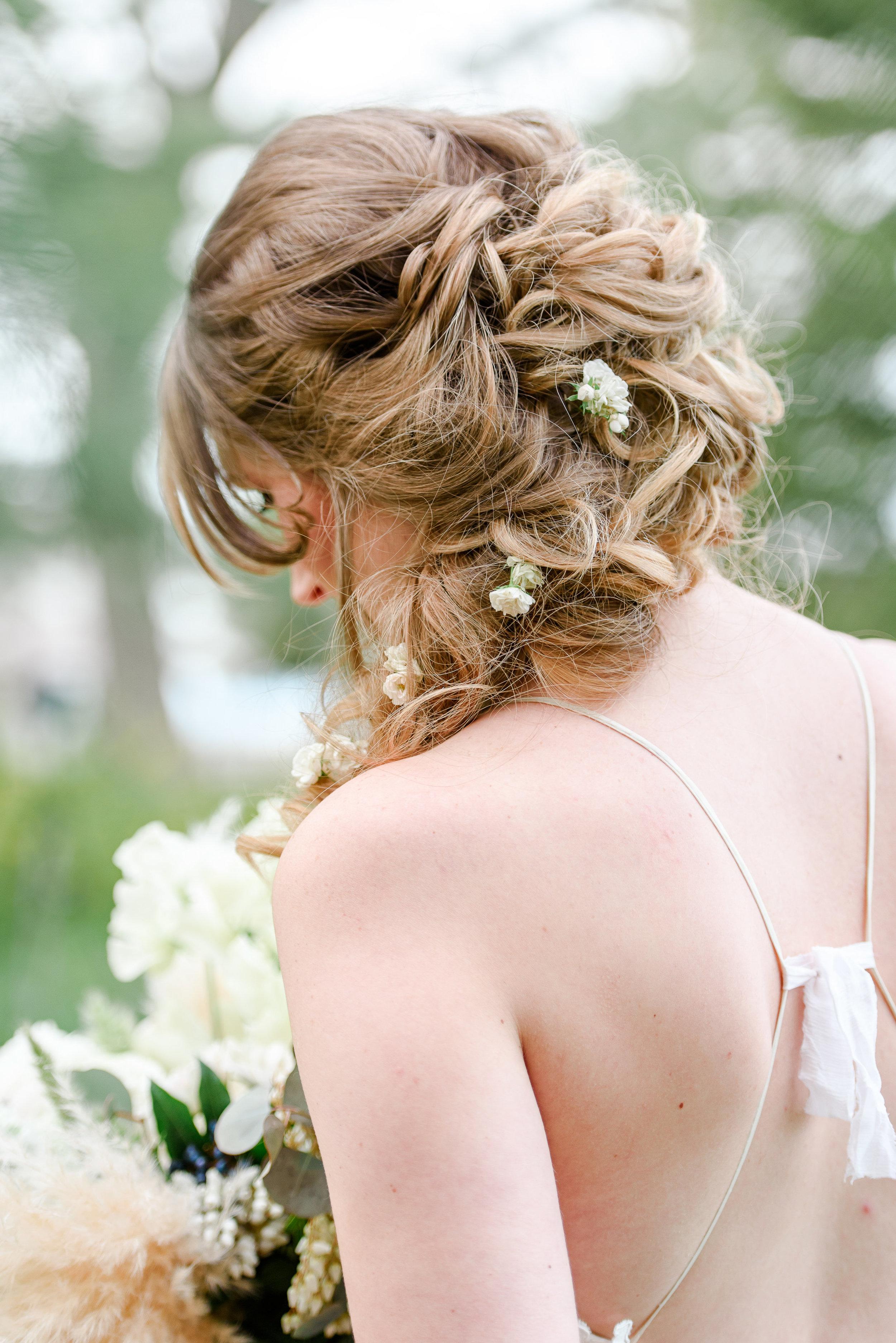 Long Hair Wedding Hairstyle | Unique Braids