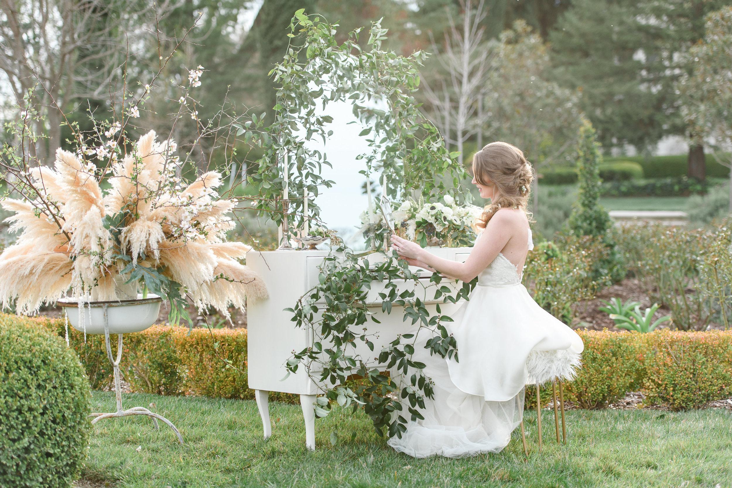 Garden Wedding Inspiration | Pampas Grass