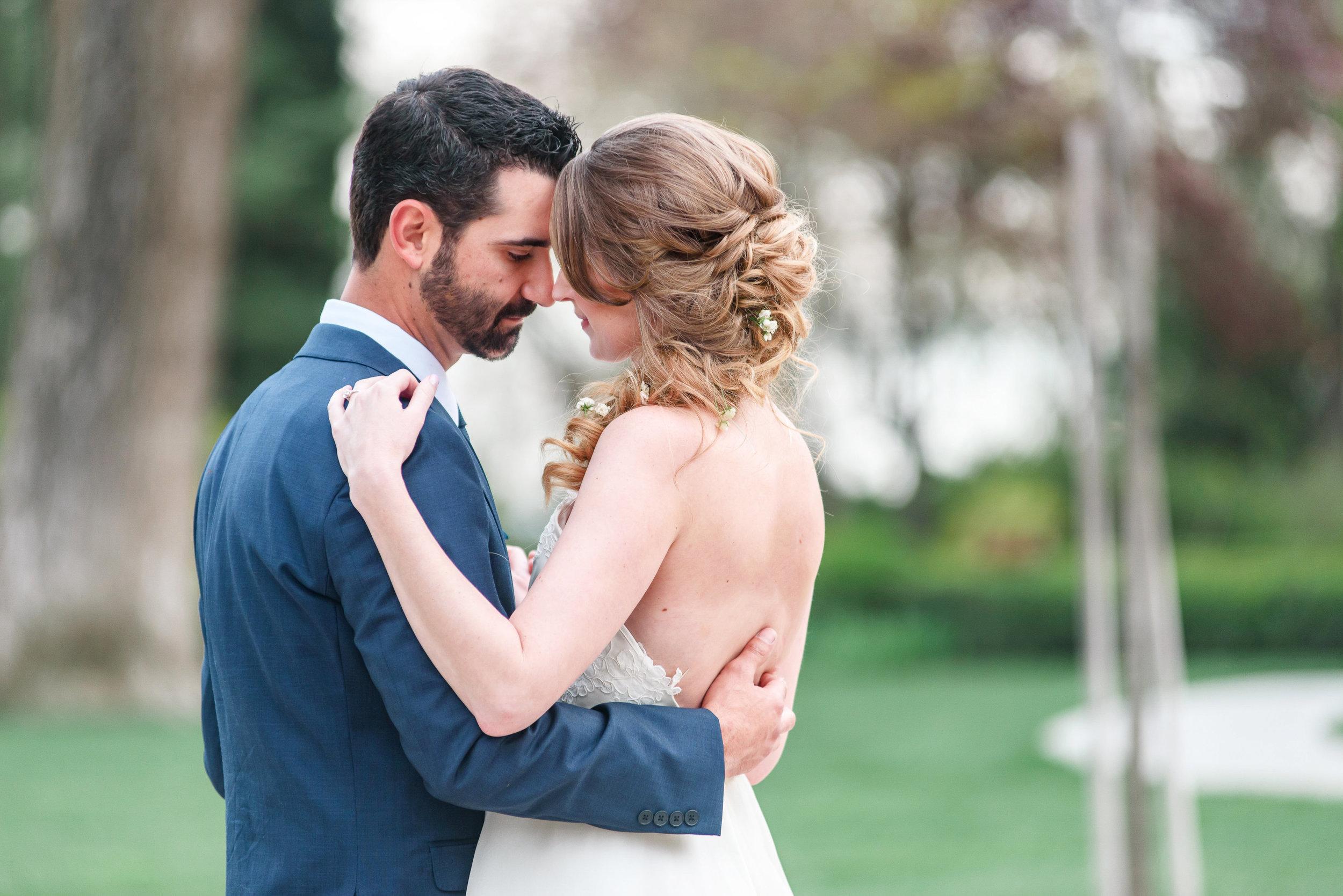 Garden Wedding Inspiration | Bride and Groom Photos