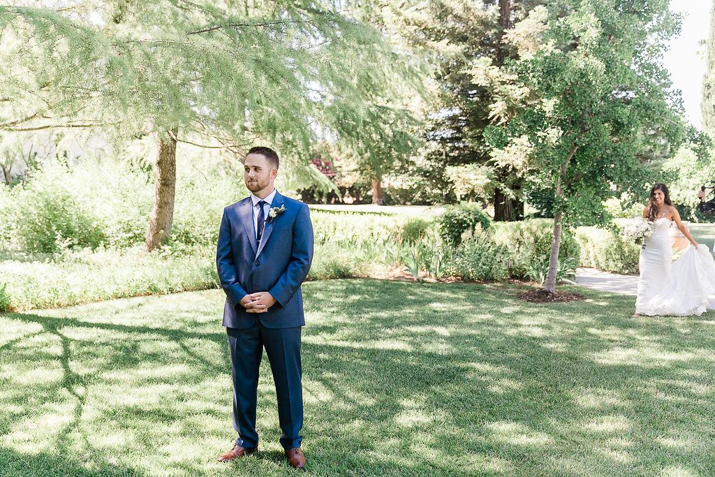 Park Winters Summer Wedding | First Look | Bride & Groom Photos
