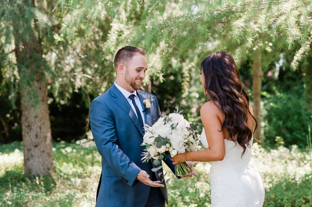 Park Winters Summer Wedding | First Look | Bride & Groom Photos