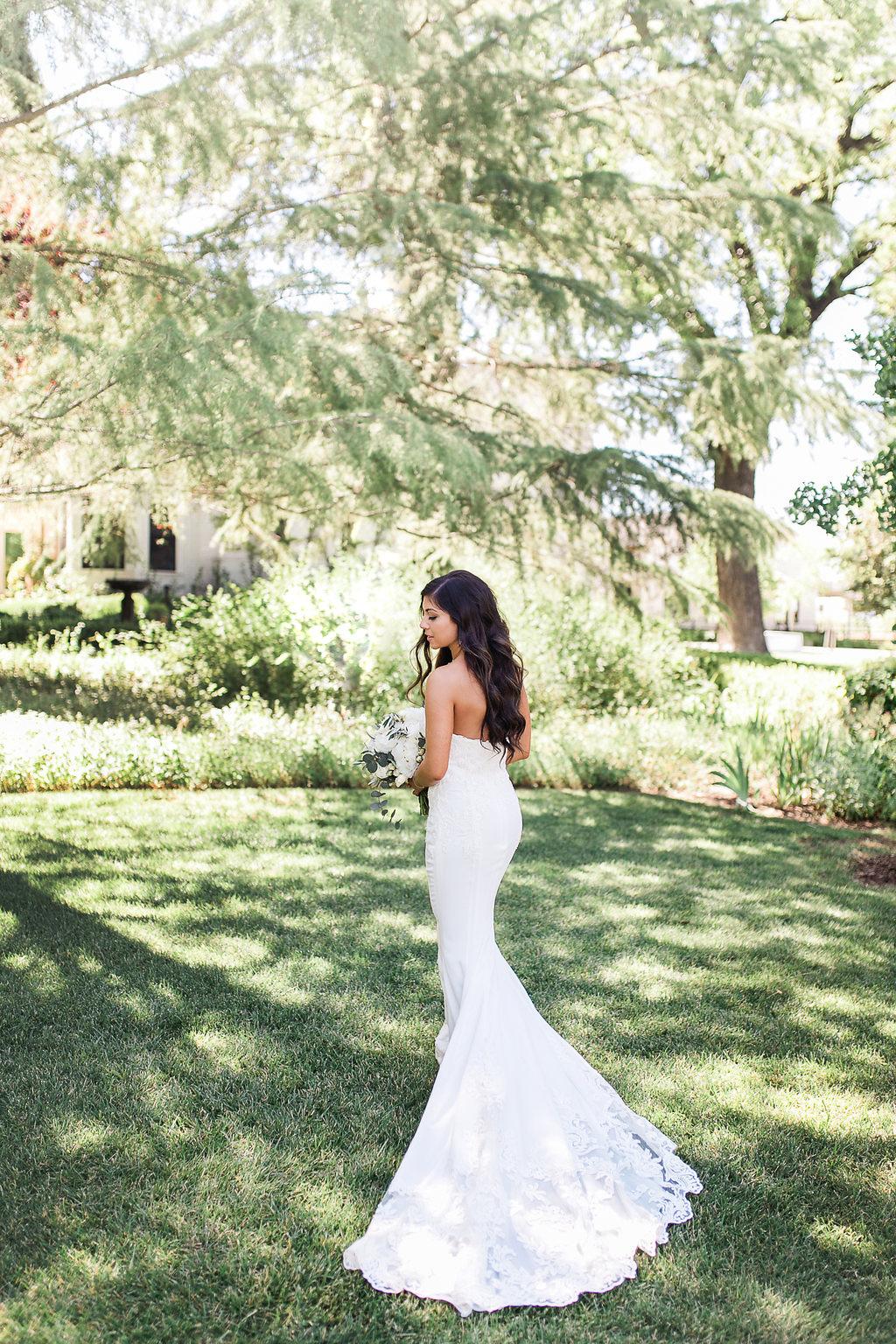 Park Winters Summer Wedding | Bridal Portrait