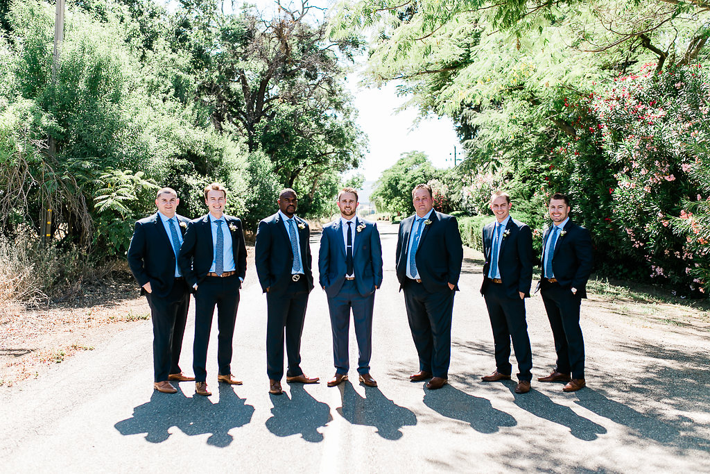 Park Winters Summer Wedding | Groomsmen | Wedding Party Photos