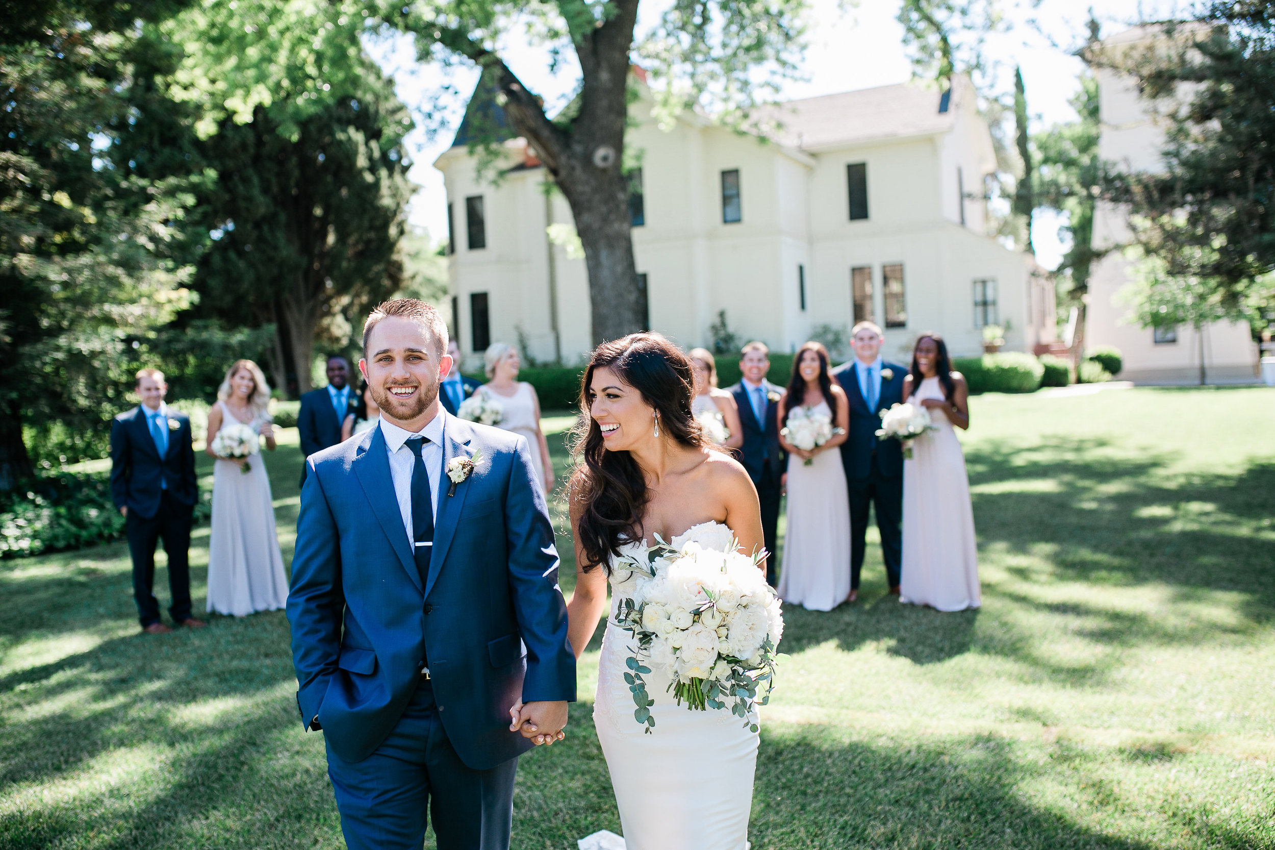 Park Winters Summer Wedding | Bride and Groom Photos