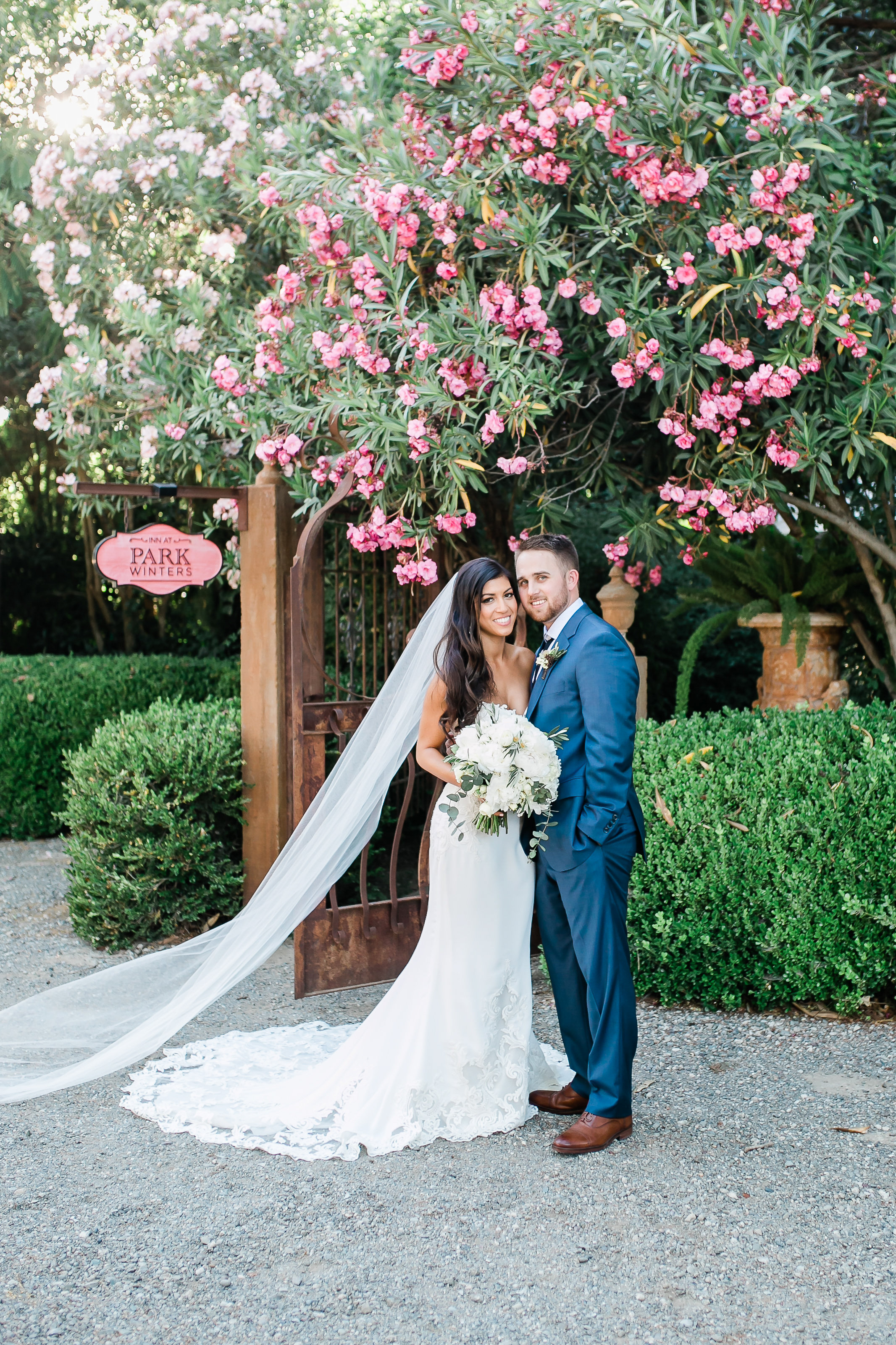 Park Winters Summer Wedding | Bride and Groom Photo
