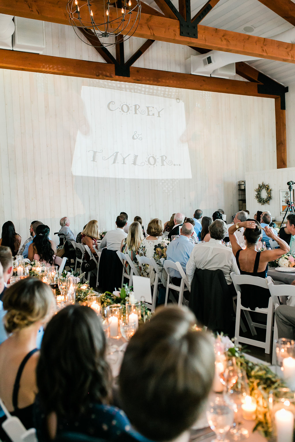 Park Winters Summer Wedding | Indoor Wedding Reception | Barn Wedding | Wedding Slideshow