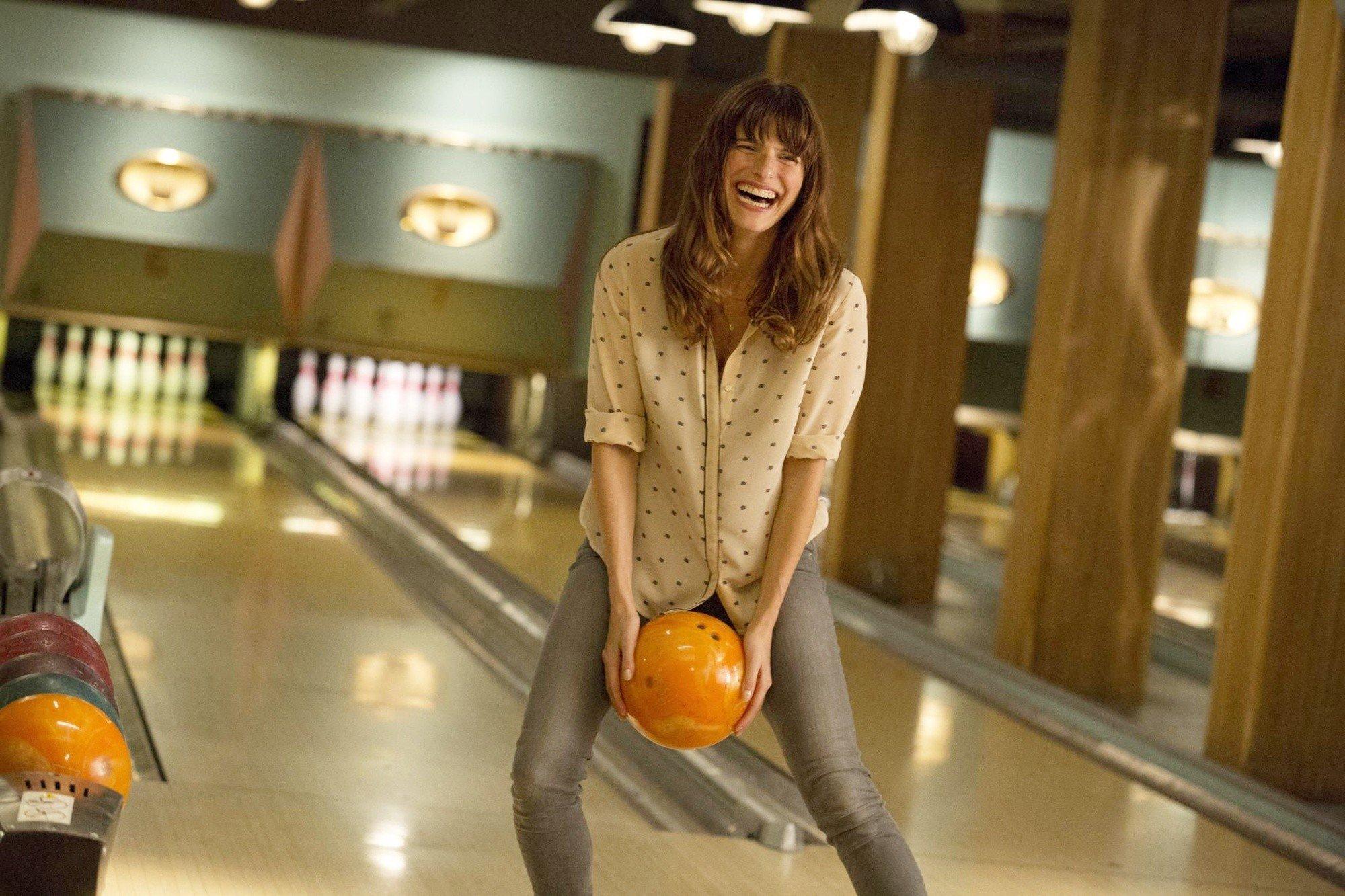 She  really  likes bowling. Like, a lot.