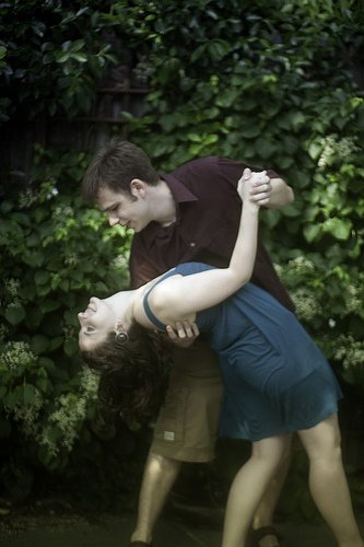 Ugh, yes, I wore shorts in our engagement photos. Why she stays with me I have no idea.