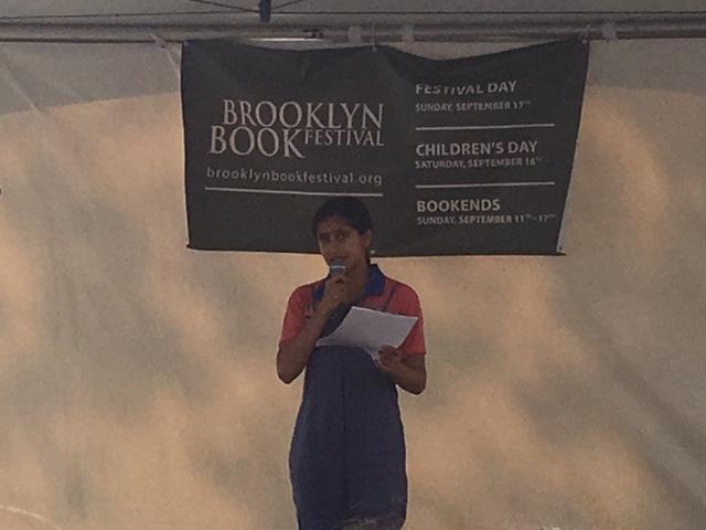 Comedian  Aparna Nancherla  tells three book-related stories.