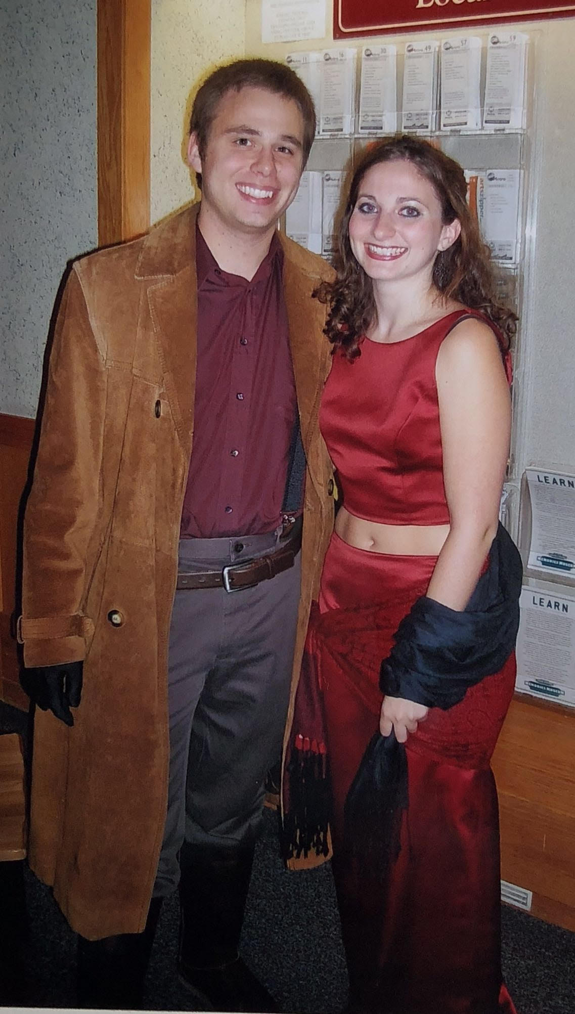 Katelyn and I in our first-ever couples costume, Mal and Inara