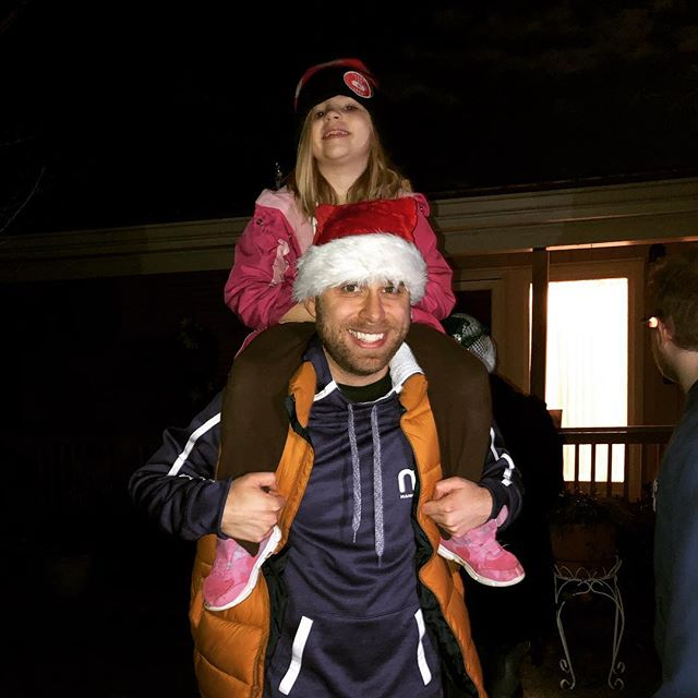 Got to participate in my first-ever Minnick Family Caroling Party tonight (and carried around the littlest caroler for a bit)! So thankful for this joyous family and their holiday spirit!