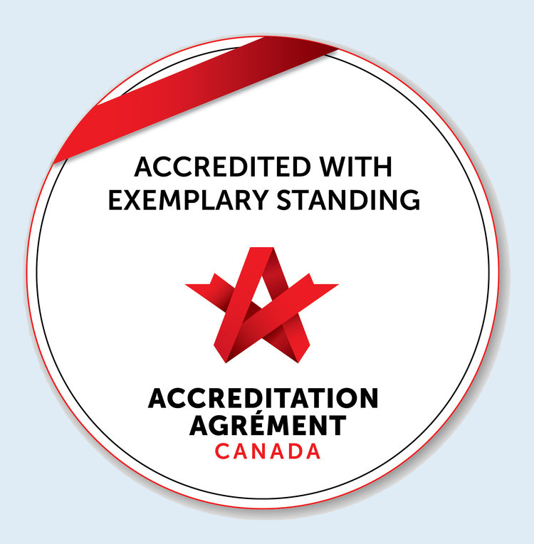 We Go Above & Beyond - Belvedere Seniors Living received Accreditation with Exemplary Standing under the Qmentum accreditation program, Accreditation Canada.
