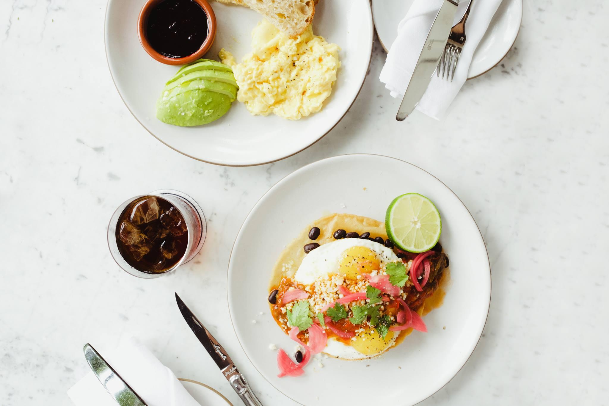 Josephine House, Huevos Rancheros & Eggs Ala Carte