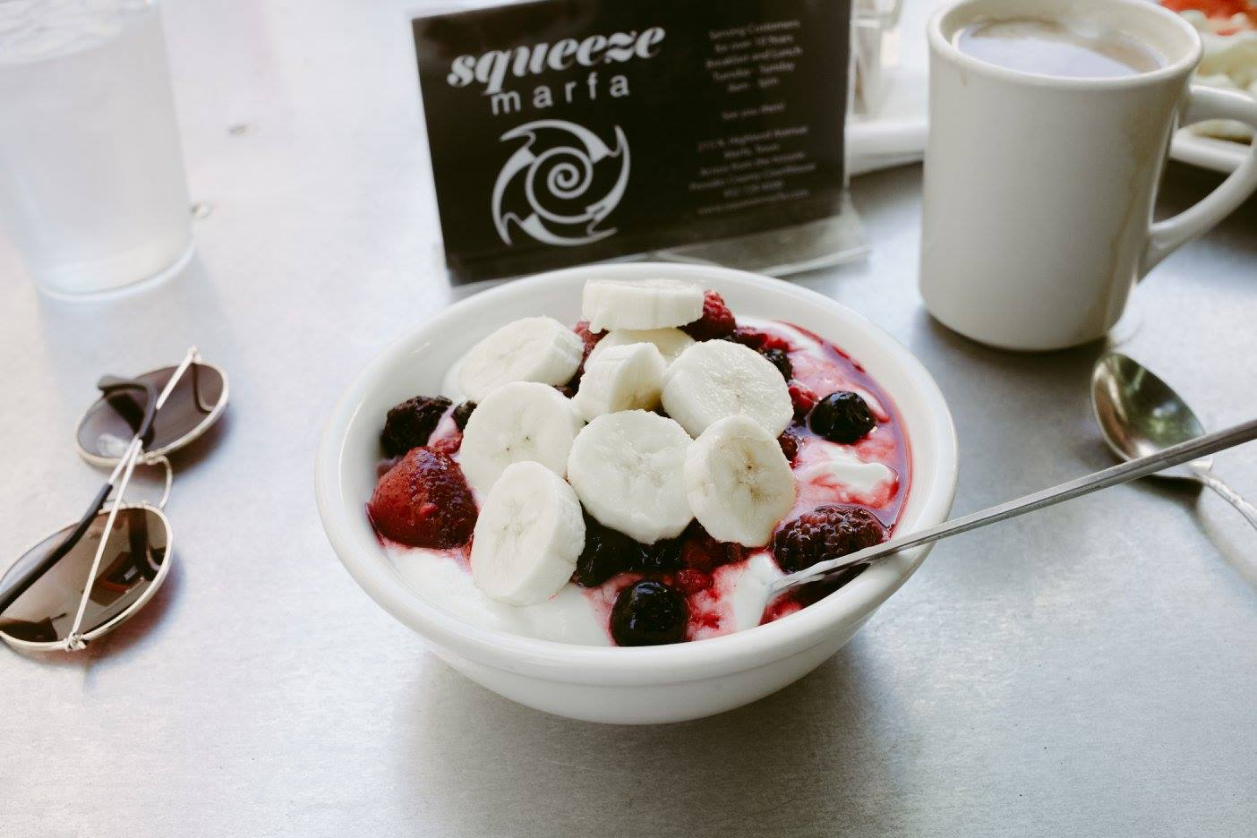 Yogurt Bowl @ Squeeze