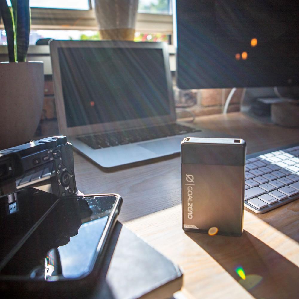 Goal Zero Flip 30 Power Bank + Nomad 7 Plus Solar Kit Gal l Solar Kit l Tiny Life Supply.jpg