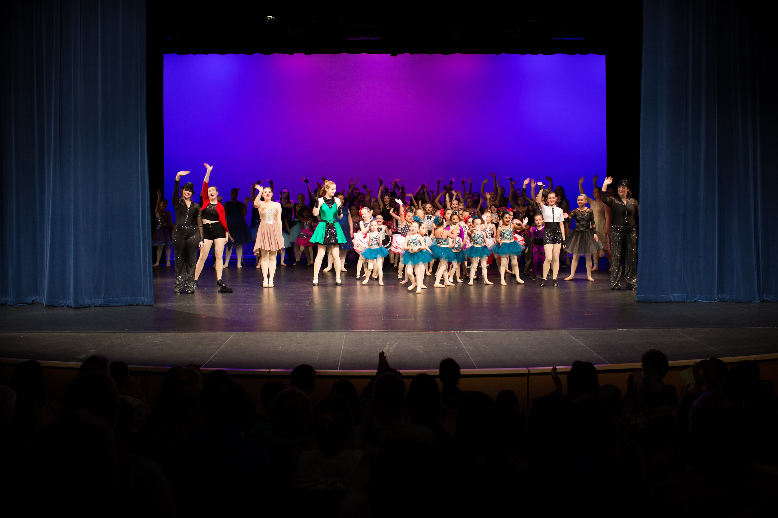 The Finale at our annual 2016 recital! Great job everyone!