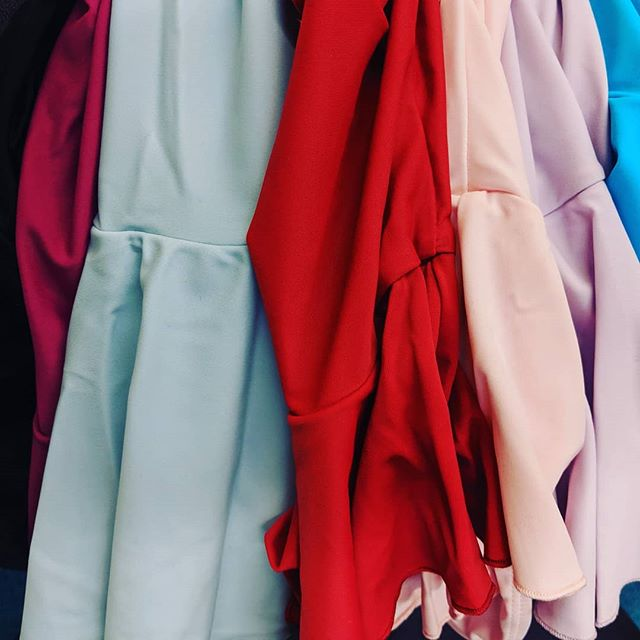 New leotards hitting the racks soon. A color for every day of the week!