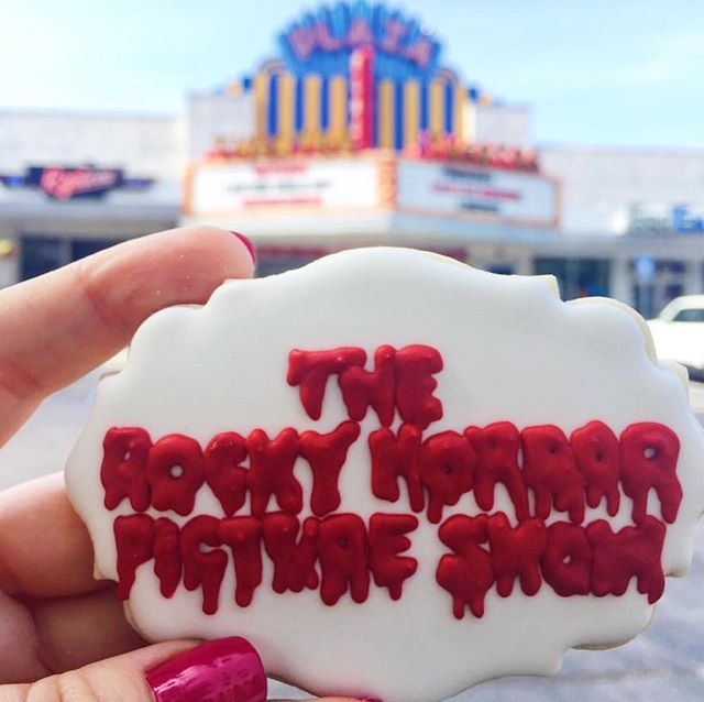 Repost ❤️ @sweetsouthernsugarcookies Last year, Atlanta designated the Plaza Theater and neighboring Majestic Diner as historic structures. This protects them from demolition and it means the Rocky Horror Picture Show can continue every Friday at midnight! So chug some coffee (cuz that 12am call time can be brutal) and let's do the time warp again! #CookieTheATL 💋