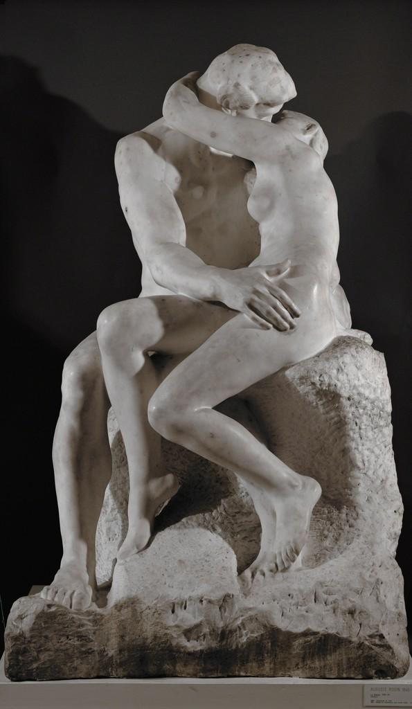 Auguste Rodin, Le Baiser (The Kiss), ca. 1886