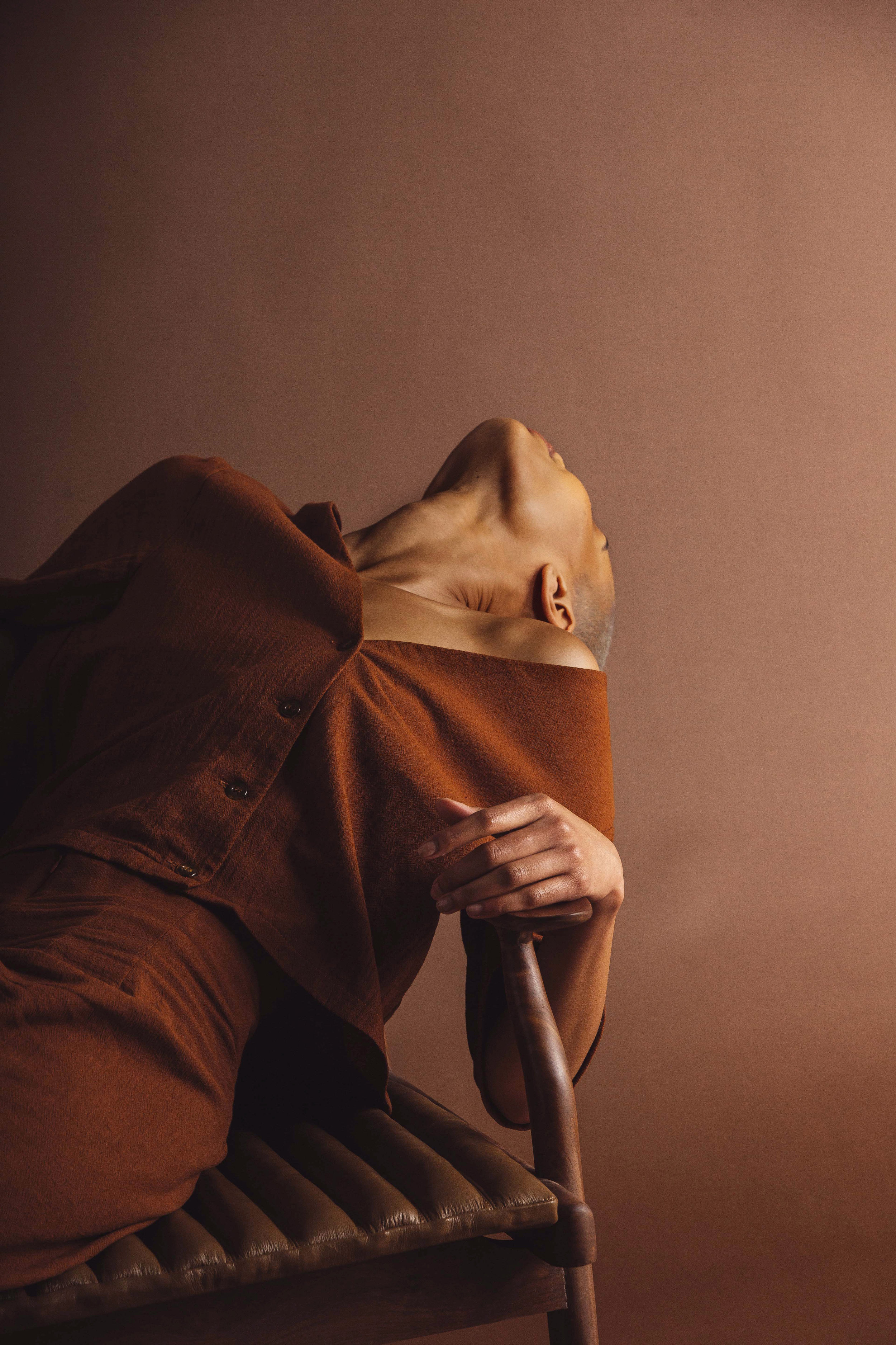 Featured:   Limb the Label: Grace top in rust, seamless pant in rust