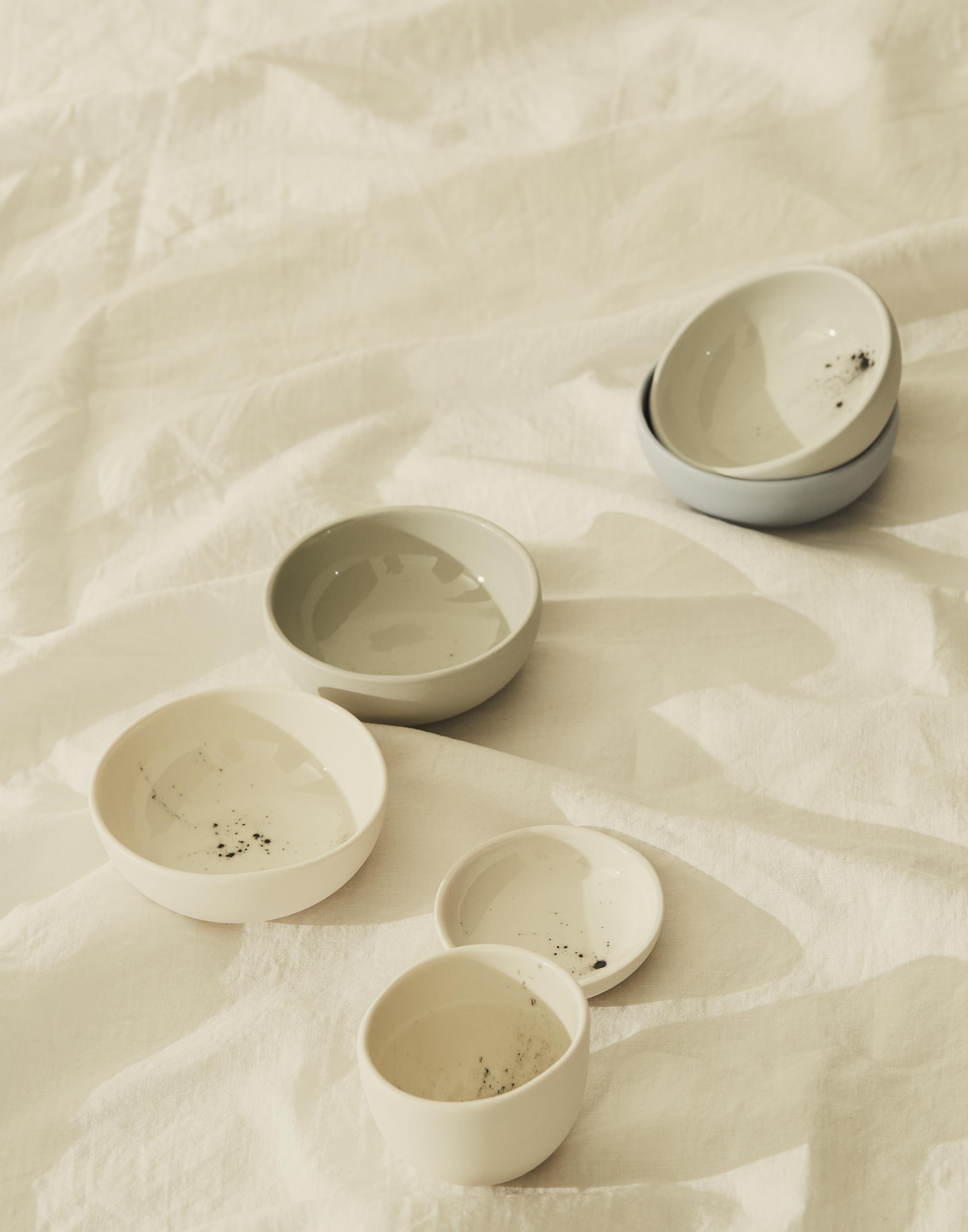 Multipurpose 'Stardust' ceramics from Studio Enti to adorn the home.