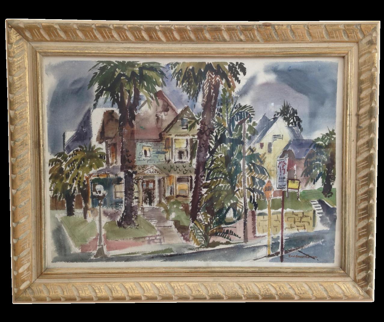 Lois Green Cohen Watercolor