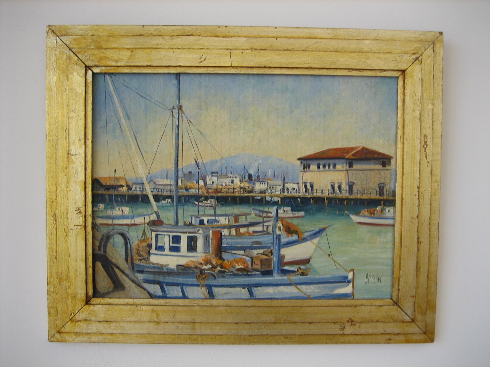 San Francisco Harbor Scene