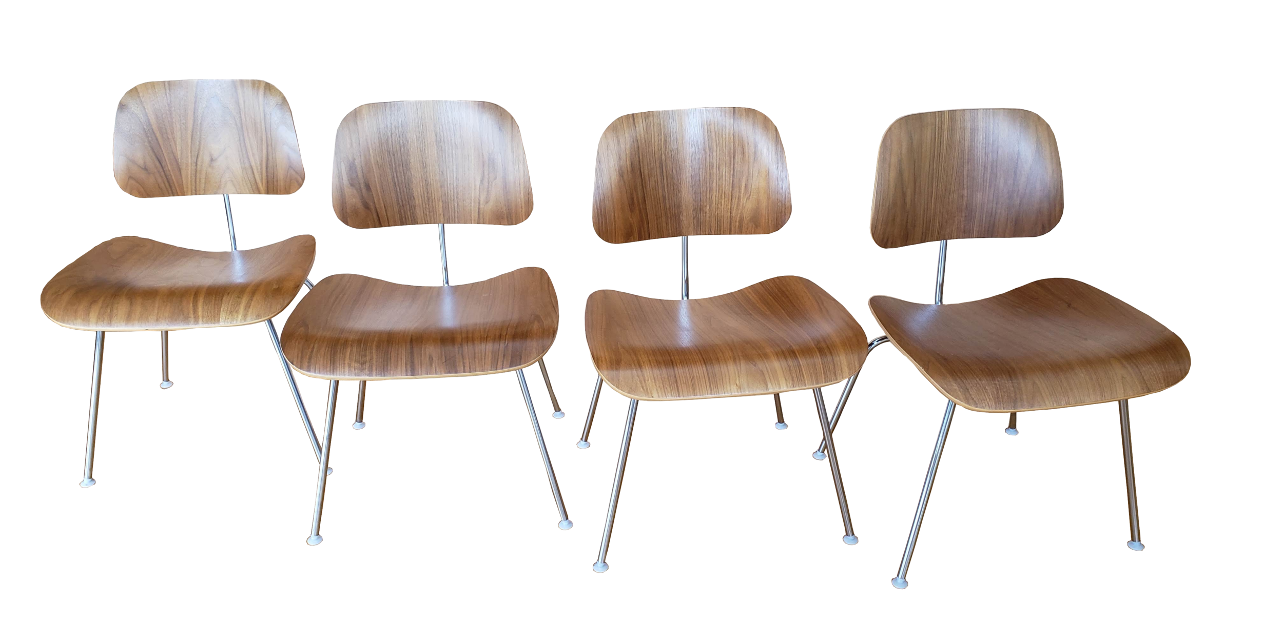 Eames DCM Chairs for Herman Miller