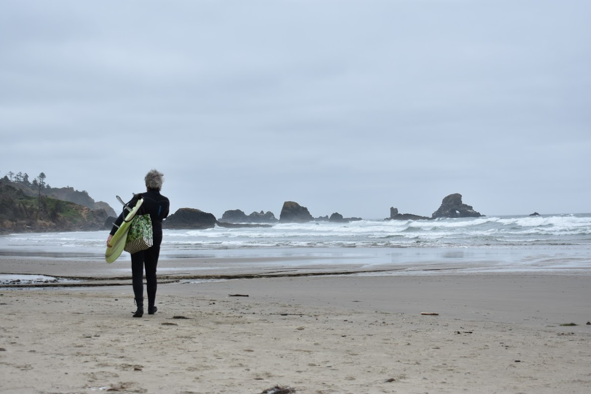 woman surfer at cannon.JPG