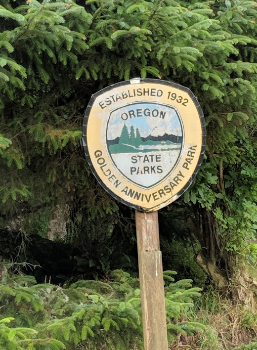 Ecola State Park History: - Here, in 1806, Captain William Clark of the Lewis and Clark Expedition viewed burial canoes of the Kilamox (Tillamook) and, looking south from Tillamook Head, he described the view as the