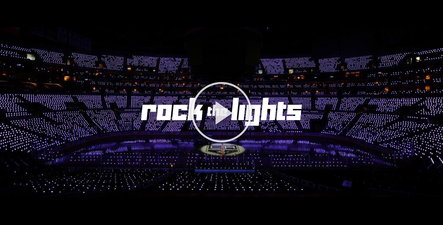 Rock the Lights   |  Interlife Demo at LA Kings Game | Staples Center, Los Angeles, CA |  02•27•16