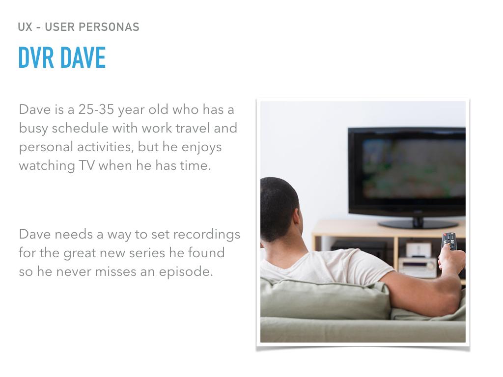 DVR Dave Persona