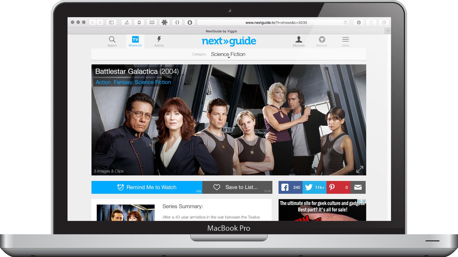 WebGuide Show Page