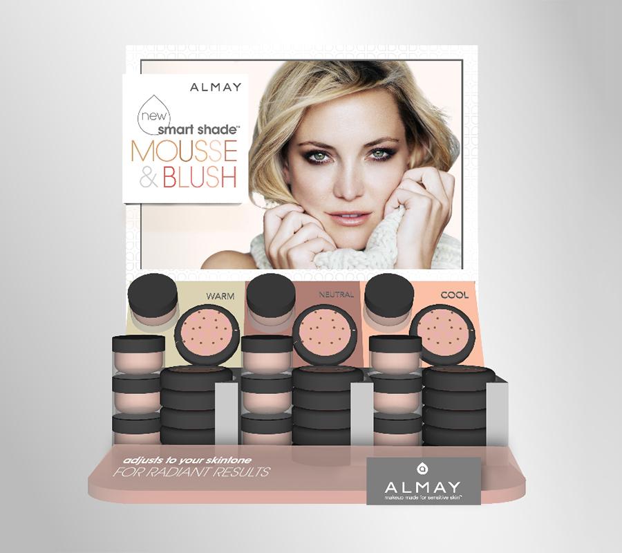 Cosmetic drugstore display
