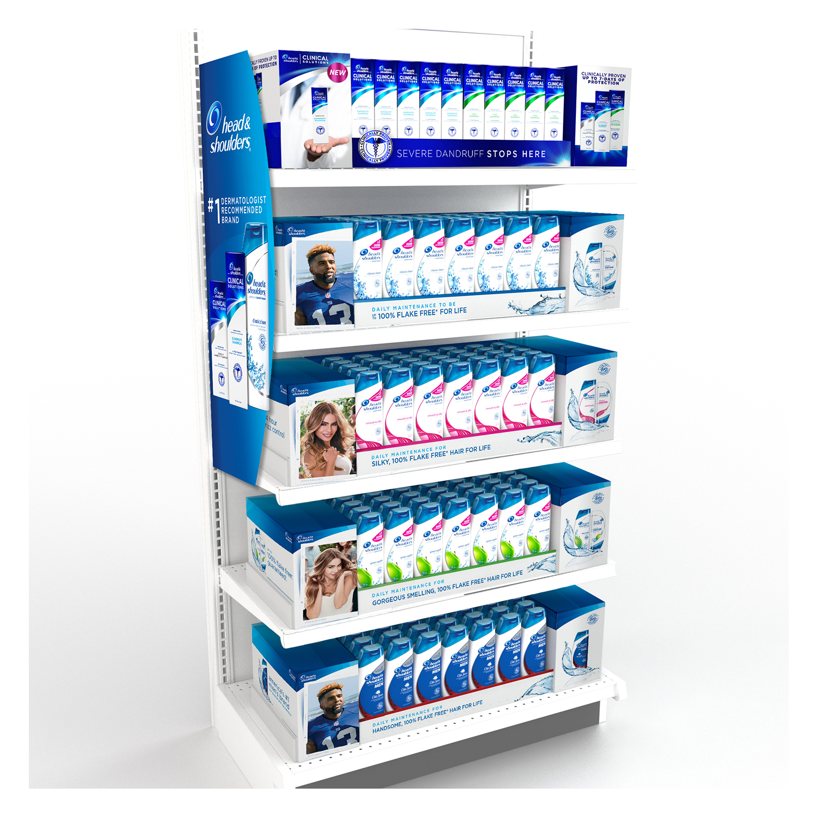 Endcap : A product family story highlighting the newest offering.
