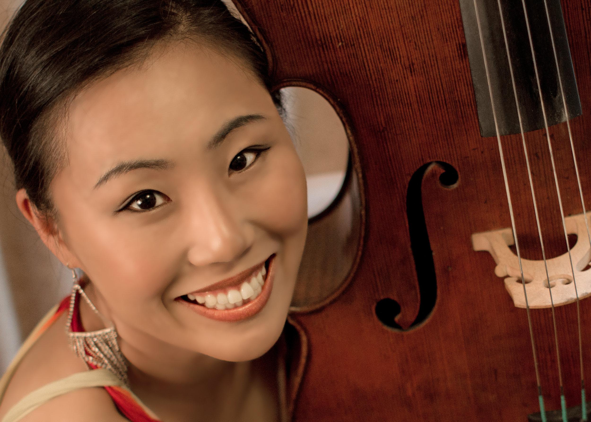 Jisoo Ok , Cello Hector del Curto Quintet B.M./M.M. The Juilliard School